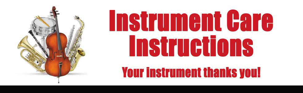 Instrument Care Instructions